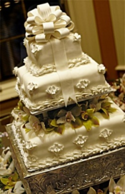 Wedding Cake 7 in Gautier MS, Flower Patch Florist & Gifts