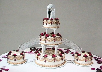 Wedding Cake 9 in Gautier MS, Flower Patch Florist & Gifts