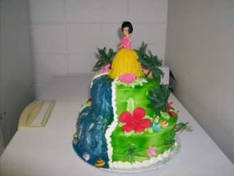 Cake 8 in Gautier MS, Flower Patch Florist & Gifts