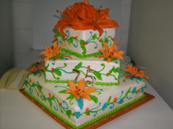 Cake 11 in Gautier MS, Flower Patch Florist & Gifts