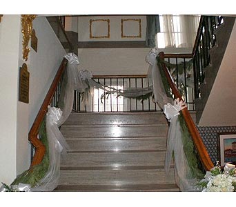 Staircase in Tuckahoe NJ, Enchanting Florist & Gift Shop