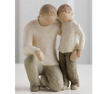 Father and Son Willow Tree Figurine in Nashville TN, The Bellevue Florist