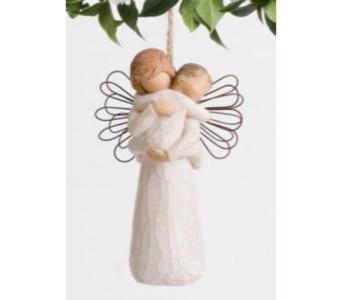 Angel's Embrace Willow Tree Ornament in Nashville TN, The Bellevue Florist
