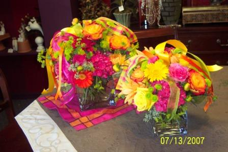 Table Arrangement in Stockton CA, Fiore Floral & Gifts