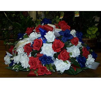 Patriotic Tribute in Dry Ridge KY, Ivy Leaf Florist