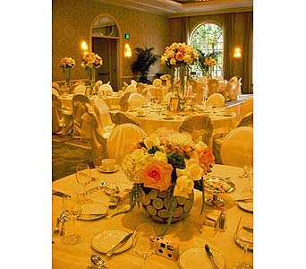 Reception/ Centerpiece in West Los Angeles CA, Westwood Flower Garden
