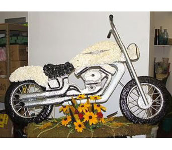 Motorcycle in Salisbury MD, Kitty's Flowers
