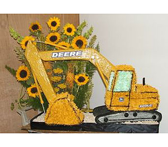 Excavator in Salisbury MD, Kitty's Flowers