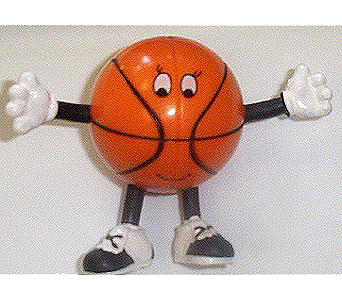 Bendable Basketball Player in The Woodland TX, The Woodlands Flowers Too