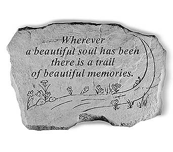 Memory Stone Beautiful Soul in Crafton PA, Sisters Floral Designs