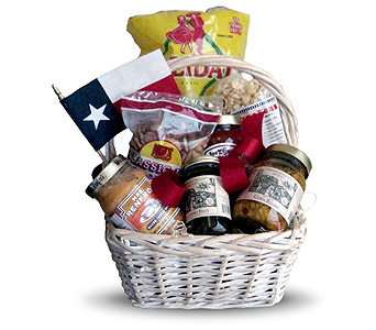 Texas Gourmet Basket in Fort Worth TX, TCU Florist