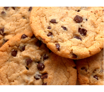 Two Dozen Chocolate Chip Cookies in Greenville SC, Expressions Unlimited