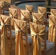 Chair Covers in Kissimmee FL, Golden Carriage Florist