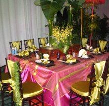 Chair Ties in Kissimmee FL, Golden Carriage Florist