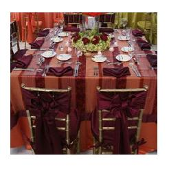 Table Linens in Kissimmee FL, Golden Carriage Florist