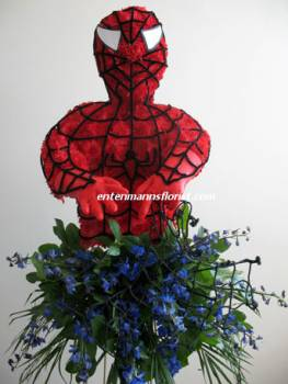 Spider Man in Jersey City NJ, Entenmann's Florist