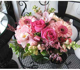 October PINK TOURMALINE Gemstone Bouquet in Massapequa Park NY, Bayview Florist & Montage  1-800-800-7304