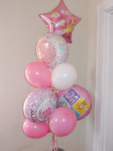 It''s a Girl Balloon Bouquet in El Paso TX, Kern Place Florist