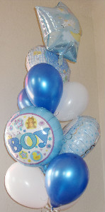 It's a Boy Balloon Bouquet in El Paso TX, Kern Place Florist