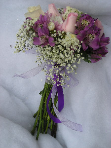 WRAPPED BOUQUET 1 in Waynesburg PA, The Perfect Arrangement Inc