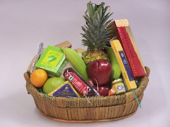 Premium Fruit & Gourmet Basket in Mesa AZ, Watson Flower Shops