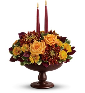 Teleflora's Harvest Bowl Bouquet in Elk City OK, Hylton's Flowers