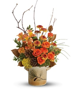 Teleflora's Pine for Me Bouquet in Commerce Twp. MI, Bella Rose Flower Market