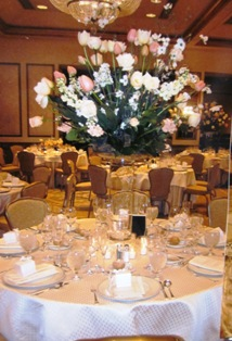 Wedding centerpieces delivery philadelphia pa petal pusher wedding centerpiece 6 in philadelphia pa petal pusher florist decorators junglespirit Image collections