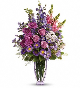 Steal The Show by Teleflora with Roses in Waterbury CT, The Orchid Florist