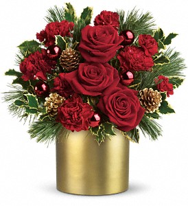 Teleflora's Holiday Elegance in Des Moines IA, Doherty's Flowers