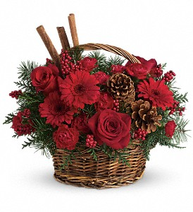 Berries and Spice in Cocoa FL, A Basket Of Love Florist