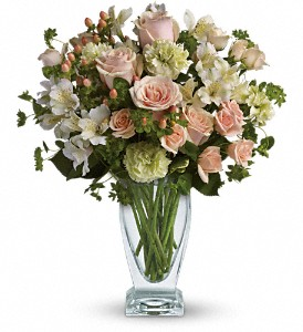 Anything for You by Teleflora in Dubuque IA, New White Florist