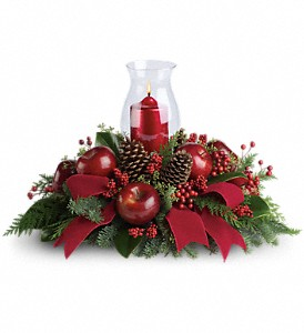 Merry Magnificence in Fairfield CT, Town and Country Florist