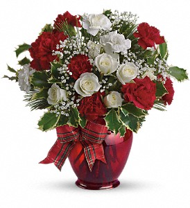 Holiday Splendor in Fairfield CT, Town and Country Florist