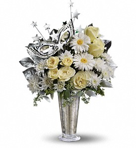 Teleflora's Toast of the Town in Dubuque IA, New White Florist