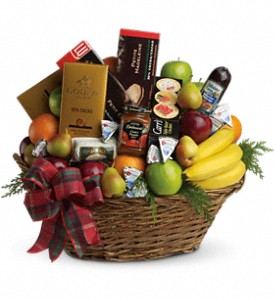 The Ultimate Christmas Basket in Calgary AB, All Flowers and Gifts