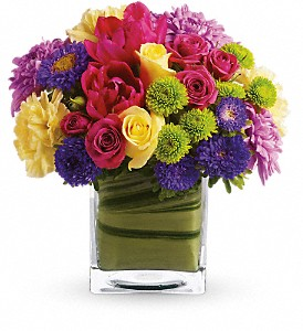 Teleflora's One Fine Day in Austintown OH, Crystal Vase Florist