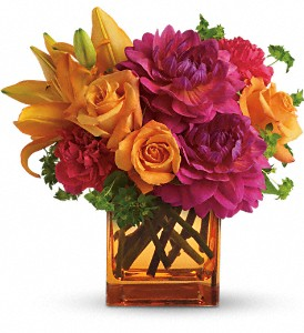 Teleflora's Summer Chic in West Bloomfield MI, Happiness is...Flowers & Gifts