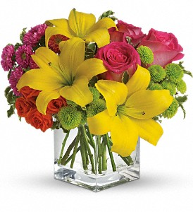 Teleflora's Sunsplash in Spring TX, A Yellow Rose Floral Boutique