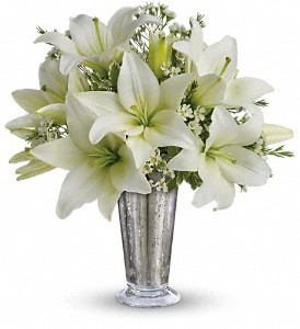 Written in the Stars by Teleflora in Dubuque IA, New White Florist