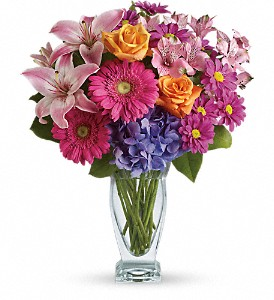 Wondrous Wishes by Teleflora in Wallingford CT, Barnes House Of Flowers