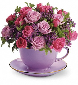 Teleflora's Cup of Roses Bouquet in Stoughton MA, Stoughton Flower Shop