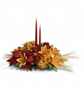 Graceful Glow Centerpiece in Orleans ON, Crown Floral Boutique