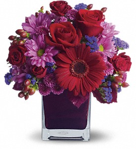 It's My Party by Teleflora in Dublin OH, Red Blossom Flowers & Gifts