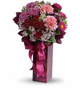 Teleflora's Fall in Love in Sparks NV, Flower Bucket Florist