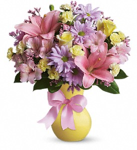Teleflora's Simply Sweet in Amherst & Buffalo NY, Plant Place & Flower Basket