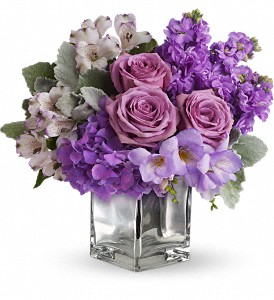 Sweet as Sugar by Teleflora in Bluffton IN, Posy Pot