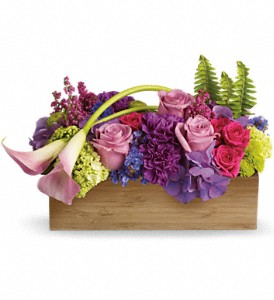 Teleflora's Ticket to Paradise in Geneseo IL, Maple City Florist & Ghse.