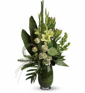 Limelight Bouquet in Puyallup WA, Benton's Twin Cedars Florist