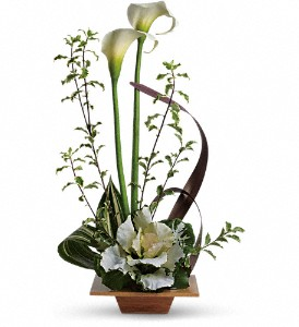 Teleflora's Grand Gesture in Dubuque IA, New White Florist
